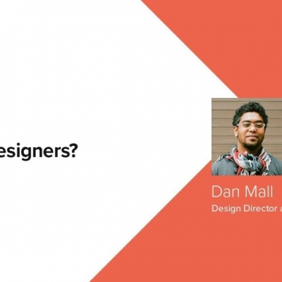 Should Designers? by Dan Mall