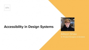 Accessibility in Design Systems by Allison Shaw