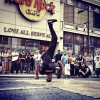 More b-boys in action