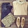 Casual Outfit – Blou